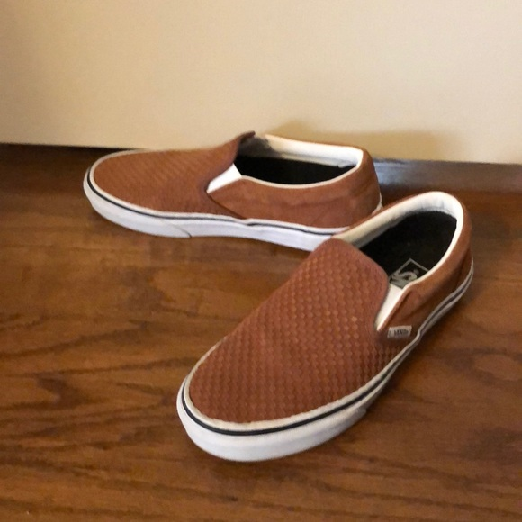 Vans Shoes | Burnt Orangesize 8 | Poshmark